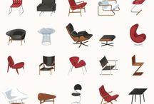 Mid Century Modern Design / by Melodie Olps
