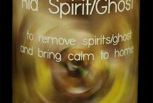 Ghost/Spirit Handmade Candles / From Ridding Ghosts to Communication with Spirits to Ghost Hunting, we have you covered! Hand Made Pillar Candles made with Essential Oils from 13 Moons