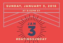 Dating Sunday by MATCH.COM / Hey #Prepsters,  Jan 3 is the busiest day for online dating. 8:52 PM specifically is the peak time of the year. Join match.com to find your perfect match this year.