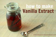 Vanilie ekstrakt