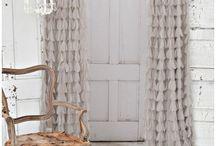 New house drapery / textiles