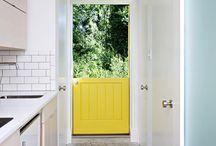 dutch doors / by Kimberly Atlas Harrington
