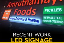 LED Signage / Move a step beyond your competitors with LED Signage for your brand.