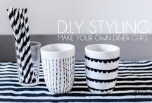 cup decoration DIY