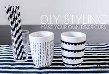 cup decoration DIY