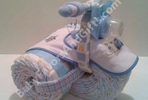 Baby Shower Diaper Decorations
