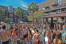 The Season's Pool party