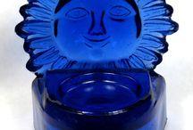Bathroom ideas / if you love Cobalt Blue