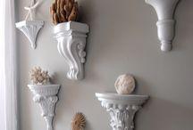 Wall Art, Sconces, & Shelves