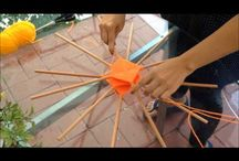 video tejido mandala