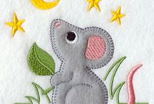 Applique designs