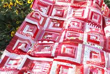 Red/White quilts