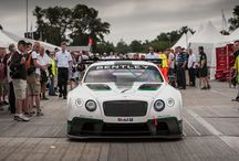 Bentley at Goodwood Festival of Speed 2013 / Bentley unveiled its new Continental GT3 race car at Goodwood Festival of Speed 2013 to a record size crowd.