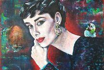 Audrey Hepburn ~ Inspired
