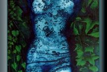 Painting Łukasz Kocjan / art, sztuka, malarstwo, painting, artist