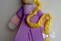 Hairclips & Ribbon