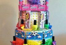 Birthday cakes(candy)