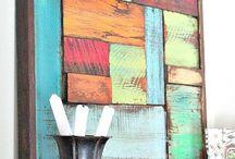 Scrap wood art / by Jerald Locke