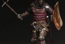 Figurki średniowiecze