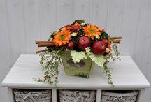 piante e composizioni fiori finti