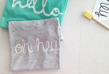Nápady a inšpirácie / Nápady pre tvorbu tričiek a pod.