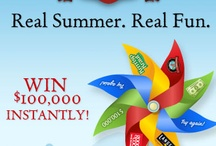 Instant Win Games  and Sweepstakes / by Isabel Holliman