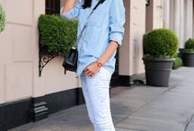 Jeans and sneakers outfit