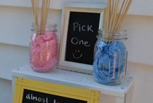 Gender reveal party / by Kristen Downing