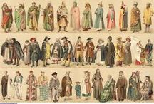 AF club Middle Ages Romanesque period / Clothes,style and colour in Dark ages-The Romanesque period (700-1200 A.D.)