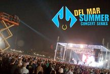 Del Mar Racetrack Concert Series 13' / The Del Mar Summer Concert Series highlights / by Del Mar Racetrack
