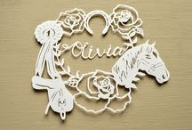 Hobbies and Interests Papercuts