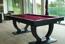 Cool Pool tables / bespoke pool / billiard tables, handmade in Marten, England in stunning contemporary & classic styles