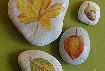 DIY stone π / See also clay / by Pii Topio