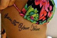 tattoo ideas / by Samantha Bersaglia