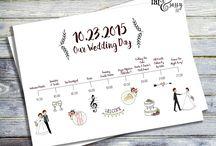 Timeline Wedding