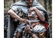 Legio XXI Rapax / Recreation of Roman legion. Roman imperial army from A.D. 50-100. Rekonstrukcja rzymskiego legionu. Imperialna armia starożytneo Rzymu z lat 50-100 n.e.