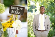 Gray Wedding Color Palettes / Inspiration for weddings with a gray color palette. Gray and yellow, gray and pink, gray and navy, the list goes on and on!
