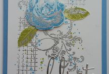Textures- Timeless & Touch of -SU / cards made with the Timeless Textures & Touches of Texture  stamp sets from Stampin' Up!