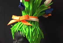 Foam hats / Foam hats for kids & adults, costume ideas, Foam hats diy, party, Halloween, handmade, fun