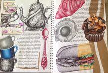 GCSE Art Food