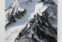 nordlys bjerge