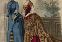 1880s ball and evening gowns