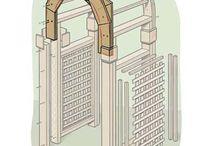 Перголы, арки