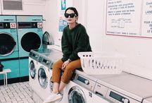 Laundry mat shoot