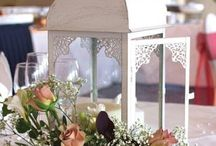 Table Lanterns / Our beautiful lanterns ensure your wedding tables are stylish and classic.