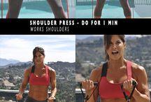 Exercícios para braços e costas