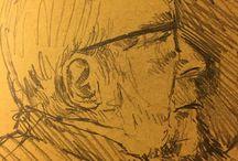 my work Watching up #drawing #sketch #pencil #sketchbook