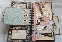 scrapbook albumok