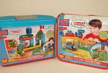 Mega Bloks Thomas Building Blocks Sets Disclosed / Cool Mega Bloks Thomas sets. Collect all of them to build a huge Thomas´s world. Every kids love that.