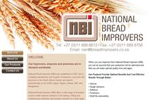 NATIONAL BREAD IMPROVERS Website Design